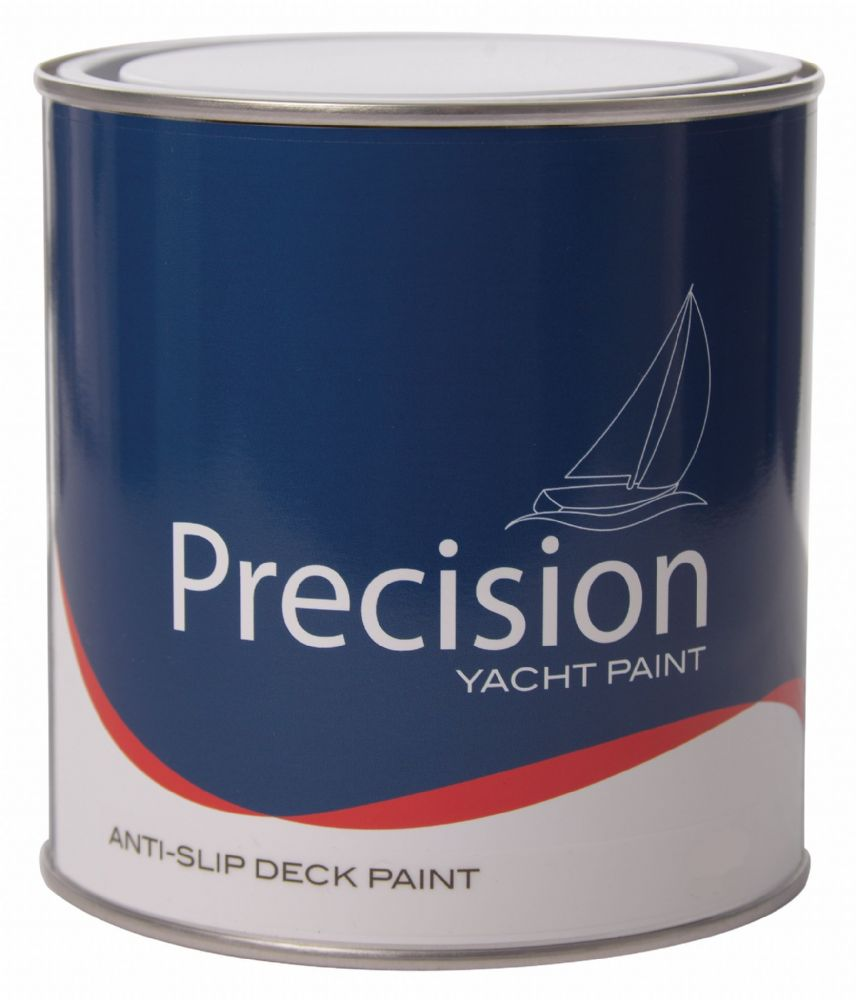 Precision Yacht and Boat ANTI SLIP Deck Paint 1Ltr Various Colours
